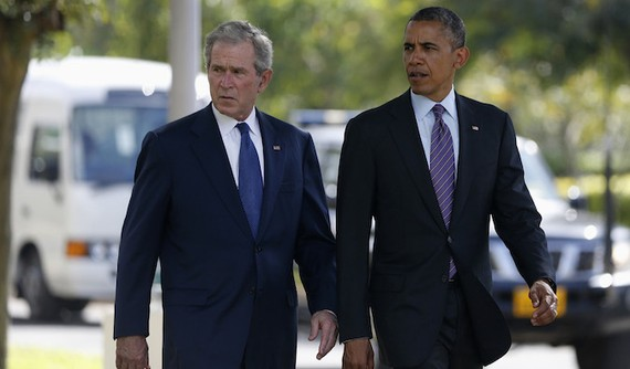 Comparing the Failures of Bush and Obama - The Atlantic