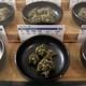 Different varieties of dried marijuana for sale