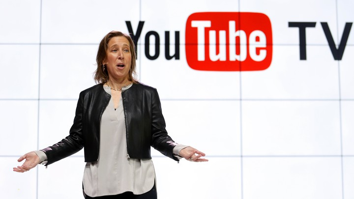 YouTube's CEO Susan Wojcicki introduces YouTube TV.