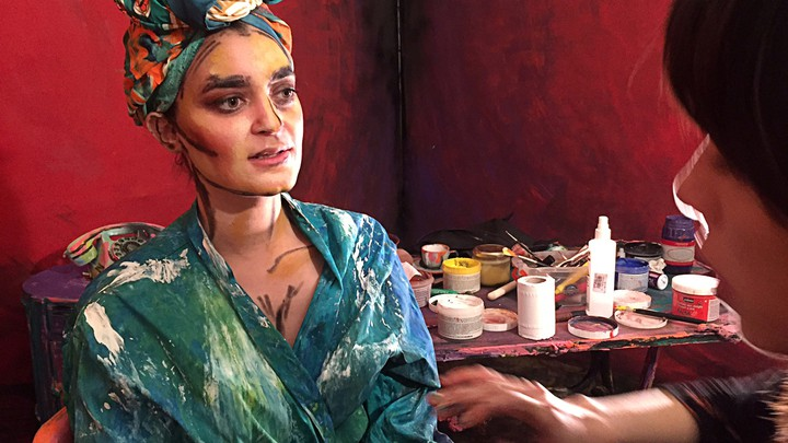 Cairo-based artist Chanel Arif uses humans and their surroundings as her canvas.