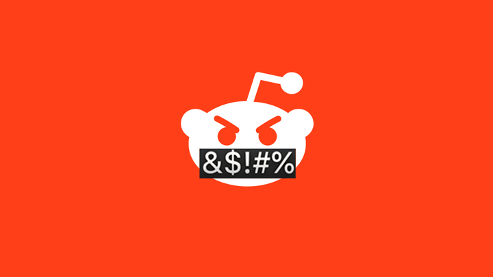 Angry Reddit logo