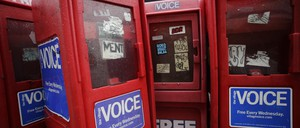 The free Village Voice newspaper announced on Tuesday it would cease publishing in print.