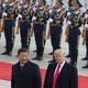 Trump and Xi meet in Beijing in 2017.