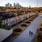 The Atlanta BeltLine is pictured.