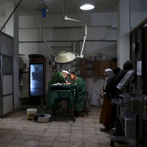 The Virtual Surgeons Of Syria The Atlantic