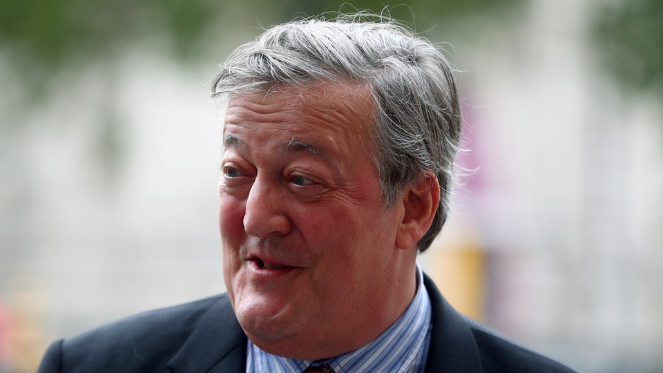 The British comedian Stephen Fry