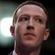 Mark Zuckerberg looking to the side