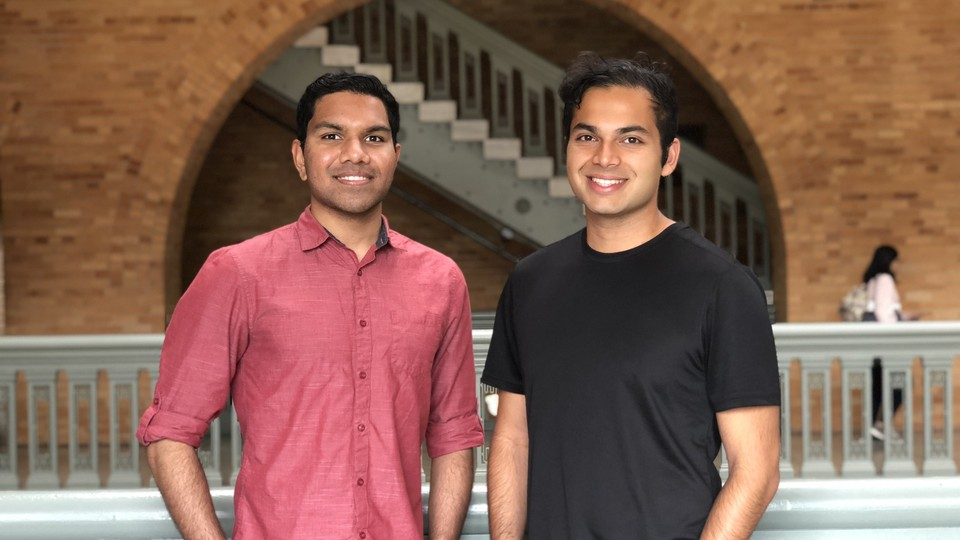 Rohan Phadte (left) and Ash Bhat (right)