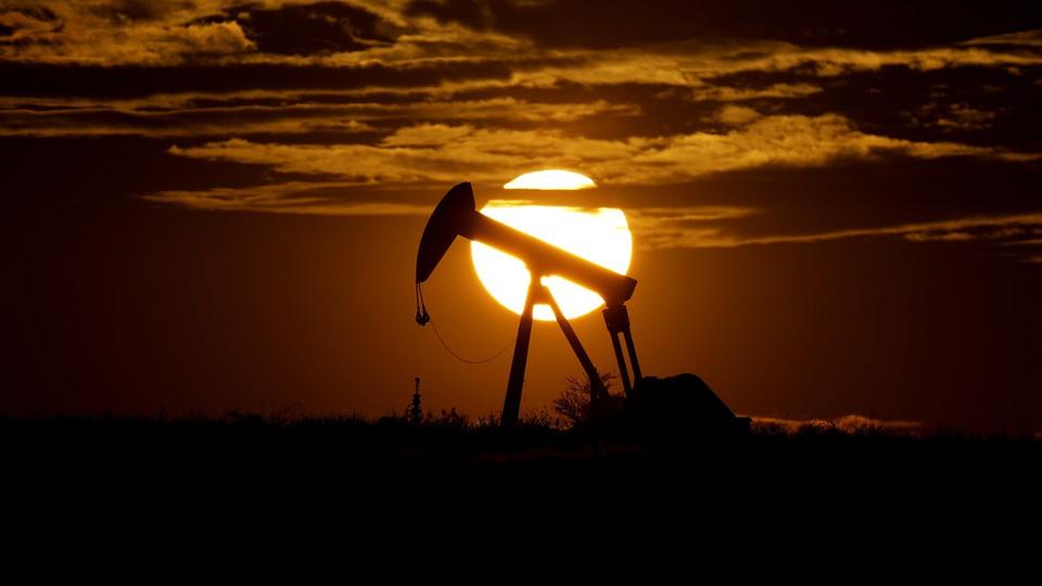 An oil pump in Texas