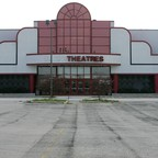The abandoned Randall Park Mall in North Randall, Ohio