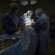 Surgeons work on a patient at Dr. Isaac Gonzalez Martínez Oncological Hospital in San Juan.