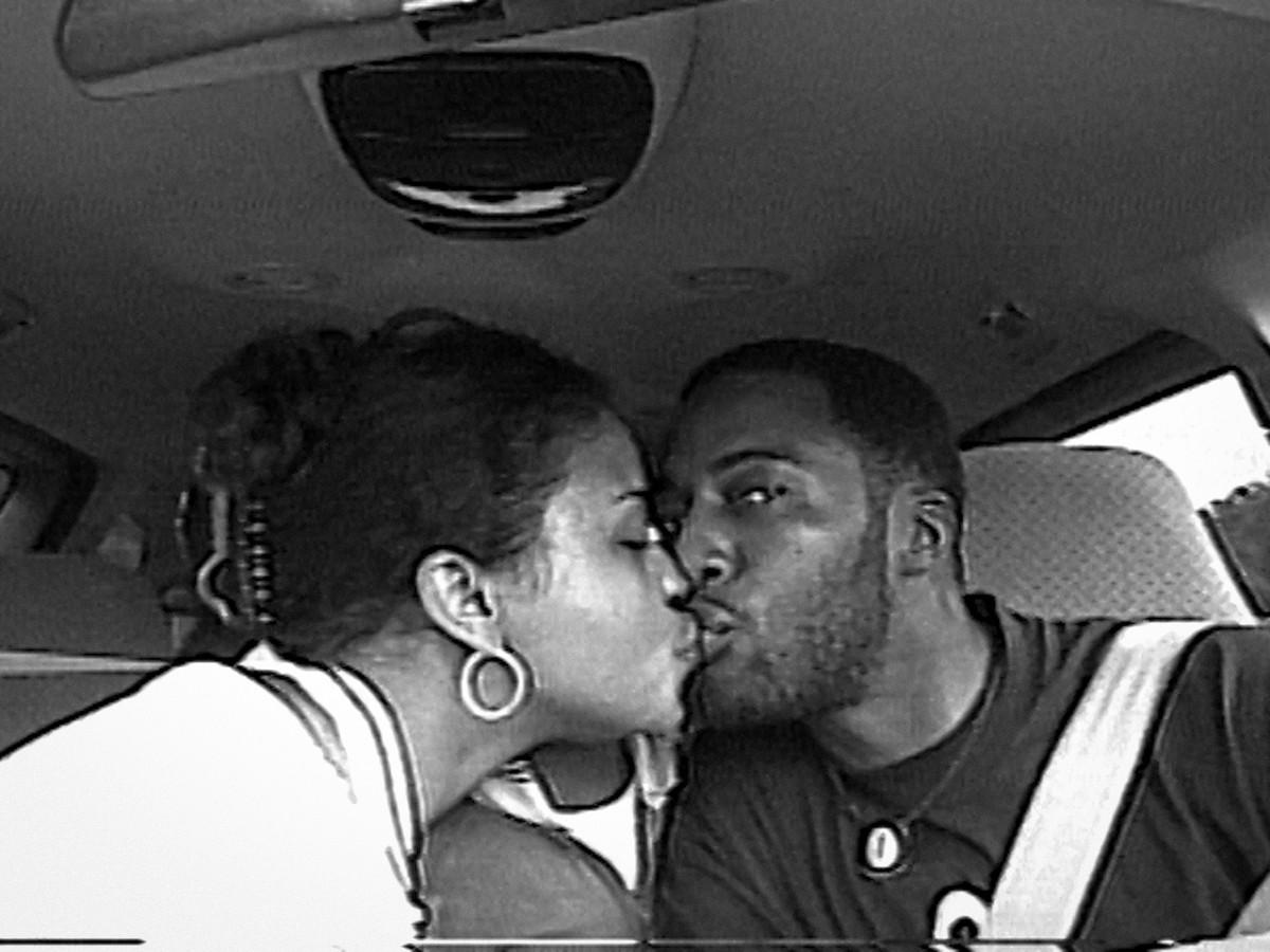 amateur young black couple