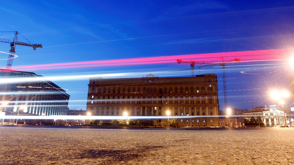 The headquarters of Russia's Federal Security Service, or FSB, in Moscow, Russia