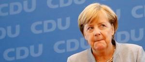 Angela Merkel is pictured.