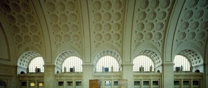 Washington, D.C.'s Union Station Great Hall in 1980,