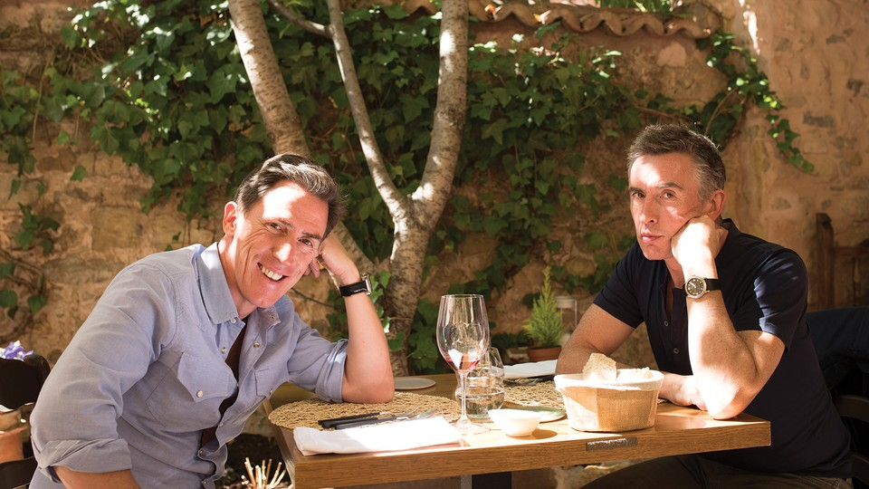 Comedians Rob Brydon and Steve Coogan in 'The Trip to Spain'
