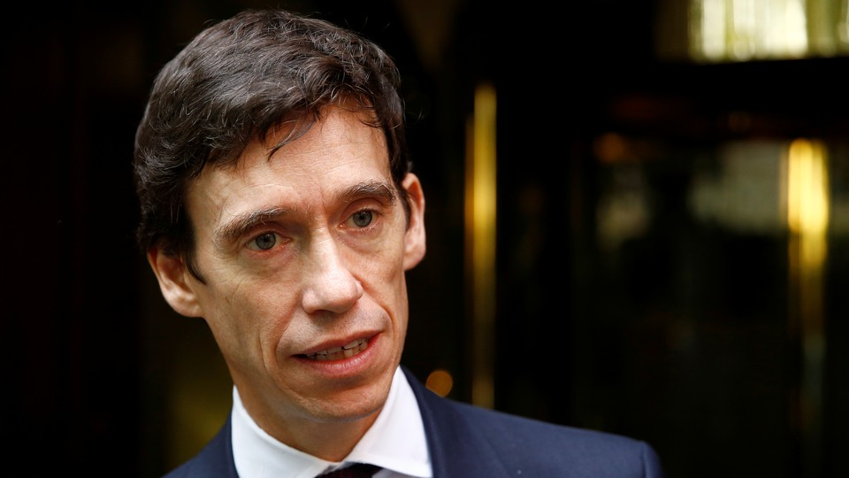 A close-up photo of Rory Stewart.