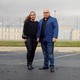 Christian's parents, Jose and Gaby, in front of Santa Clara prison, where Christian died in custody. (Carlos Chavarria)