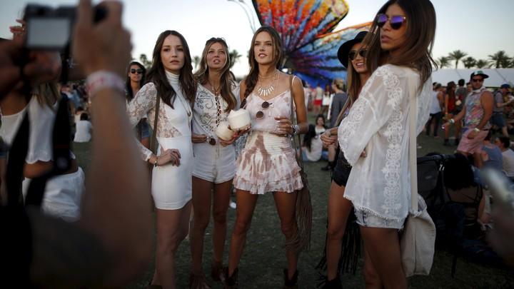How Fashion Co Opted Coachella The Atlantic