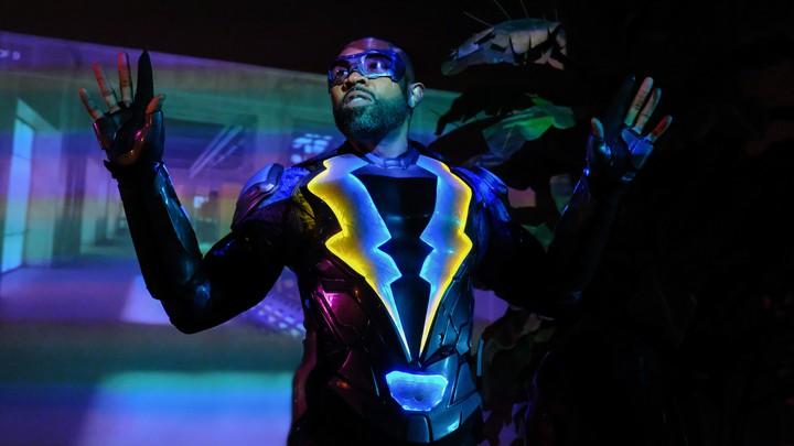 Cress Williams as Jefferson Pierce, a.k.a Black Lightning