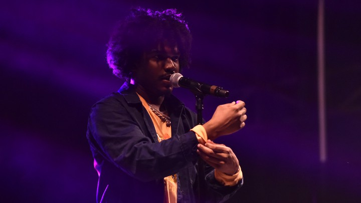 Smino performs during the 2018 Voodoo Music & Arts Experience on October 26, 2018, in New Orleans, Louisiana.