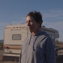 "A still from ""Nomadland"" of Frances McDormand's character, Fern"