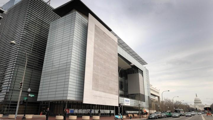 exterior of the Newseum