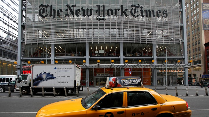 The New York Times headquarters in New York City