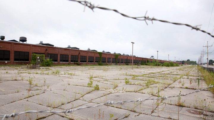 A shuttered factory in Indiana