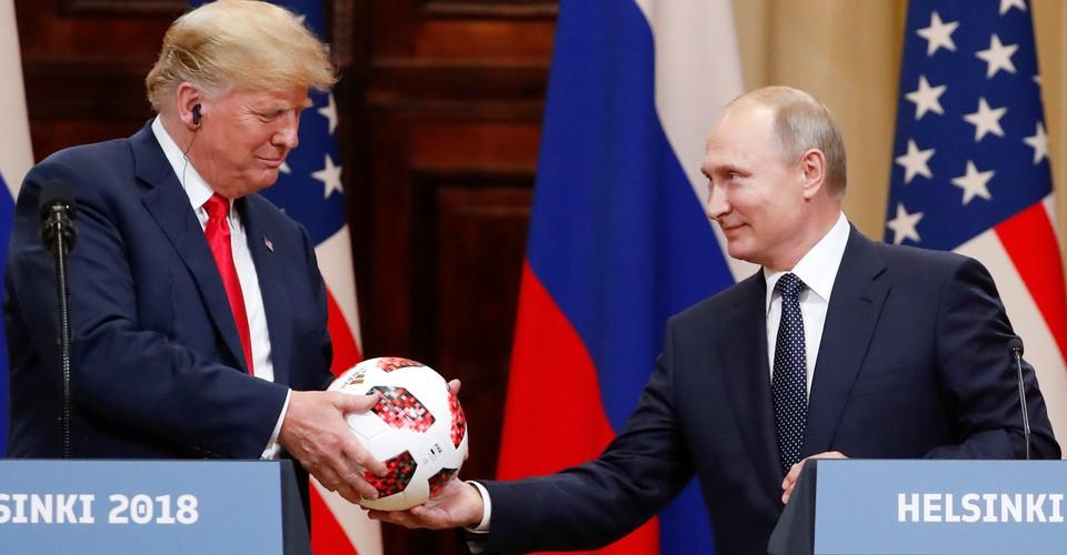 Trump And Putin S Phone Call Is Helsinki All Over Again The Atlantic