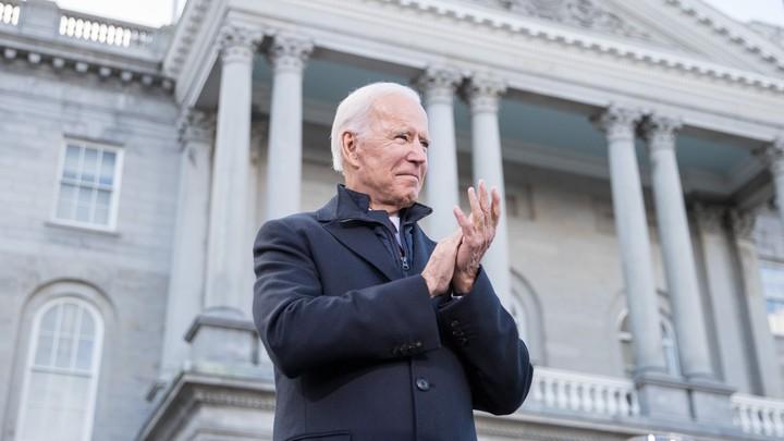 Joe Biden in New Hampshire