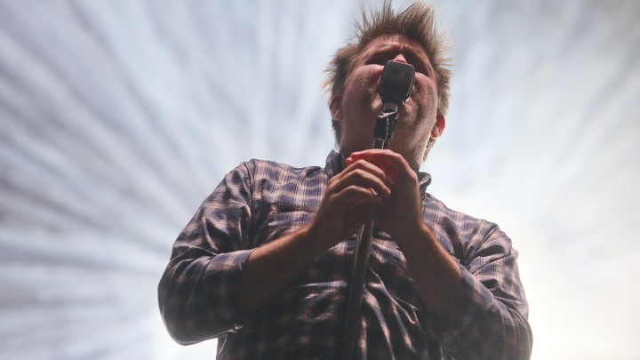 James Murphy's LCD Soundsystem performs at the Austin City Limits Music Festival on Oct. 2, 2016.