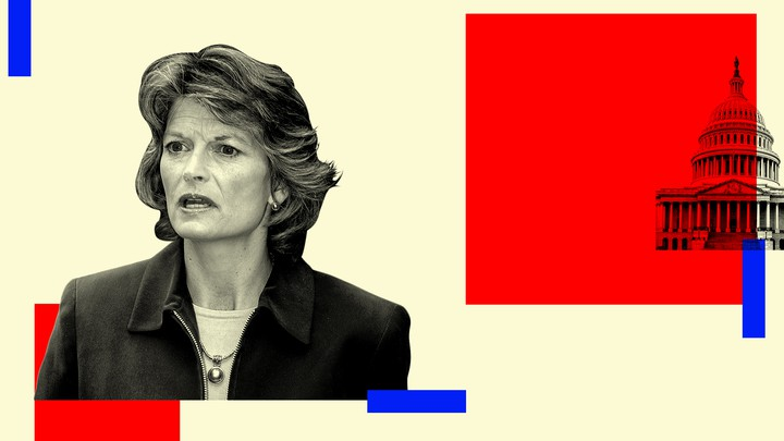 Senator Lisa Murkowski of Alaska and the Capitol dome