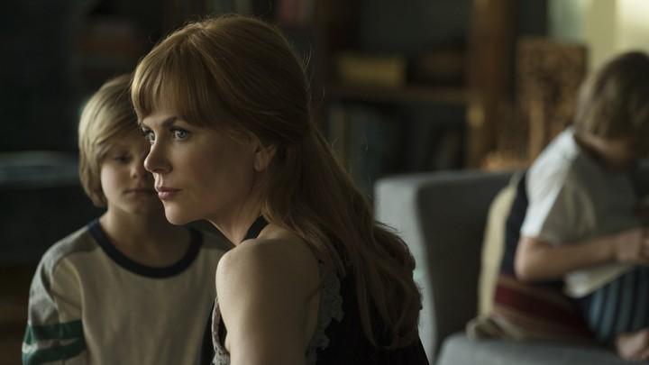 Celeste (Nicole Kidman) and her twin sons in 'Big Little Lies'