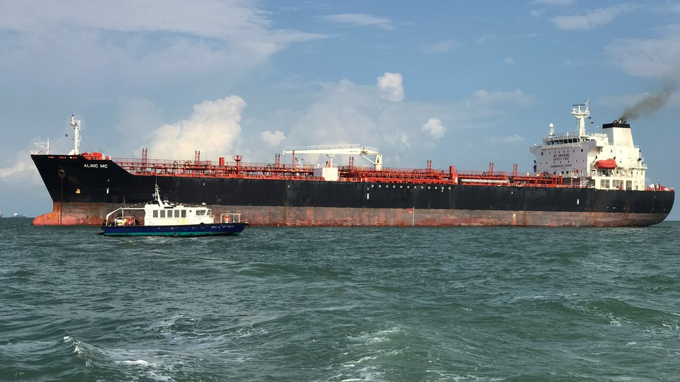 A large ship