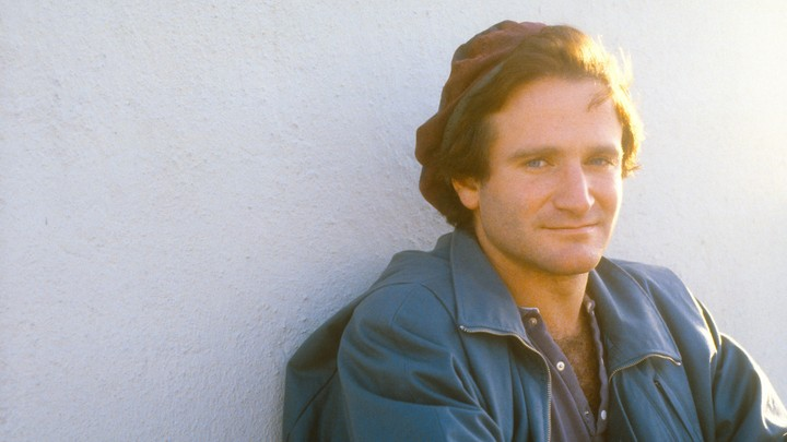 A young Robin Williams