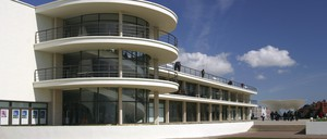 The De La Warr Pavilion in Bexhill-on-Sea, U.K., is a work of Modernist architecture not unlike TB facilities of the same era.