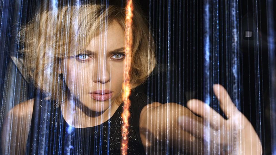 As the brain capacity of Scarlett Johansson's character, Lucy, rises, all semblance of logic plummets.