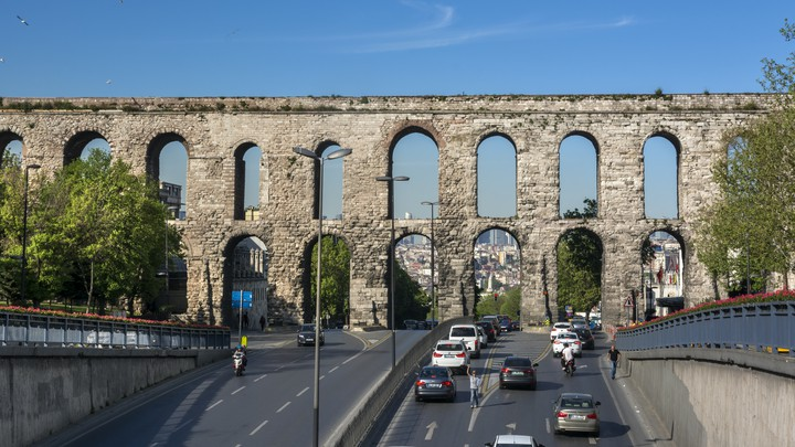 The historic Valens Aqueduct is set to be renovated—and Istanbulites aren't happy.