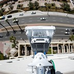 A newly-installed 5G antenna system in San Diego, California.