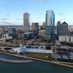 A photo of the Milwaukee skyline