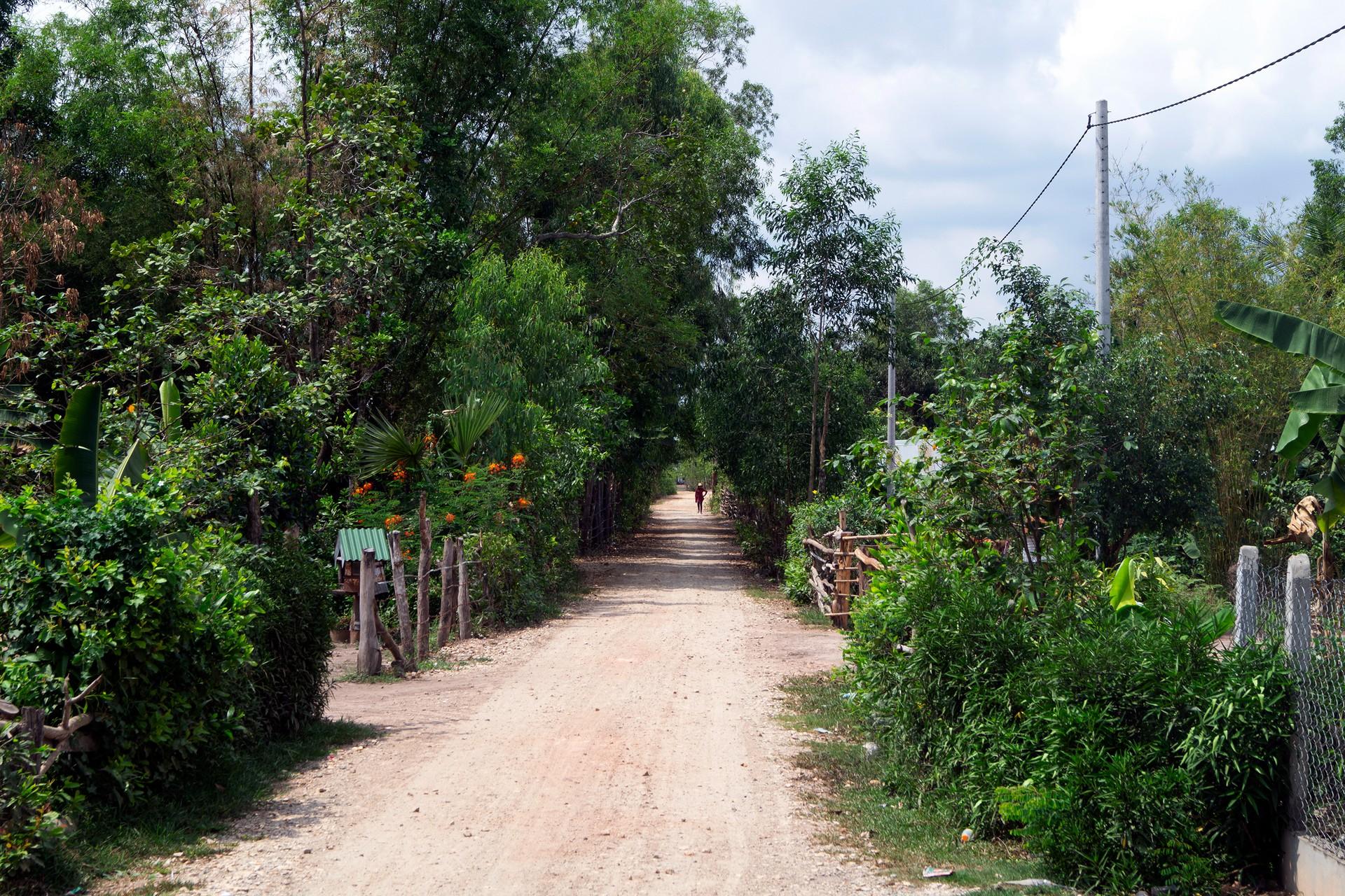 The village of Kampout Tuk, Cambodia.
