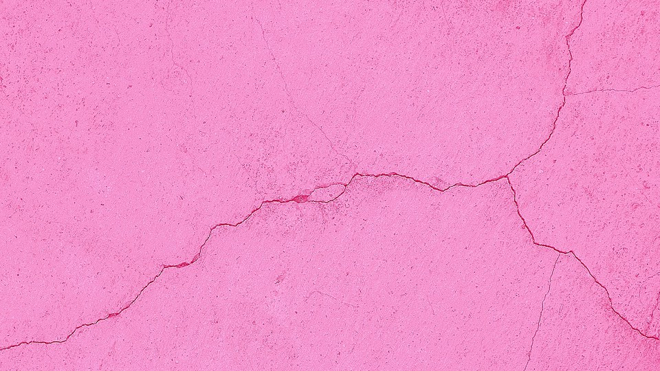 A pink wall