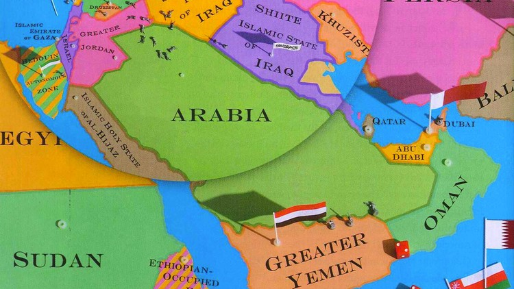 The New Map of the Middle East - The Atlantic