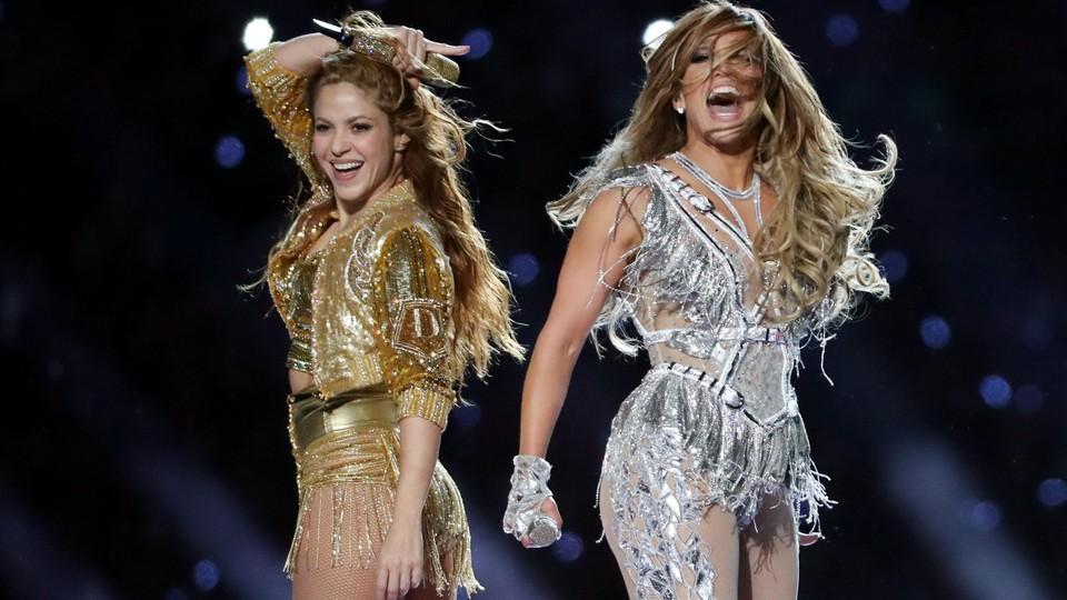 Shakira and J. Lo