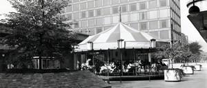 Allegheny Center in 1974.