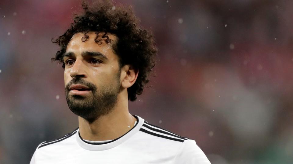"""Egyptian soccer star Mohamed """"Mo"""" Salah"""