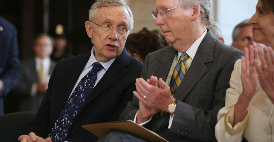 Harry Reid Wants 1989 S Mitch Mcconnell Back The Atlantic