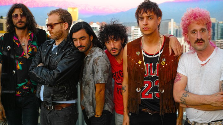 The Voidz, featuring Julian Casablancas (second from right)