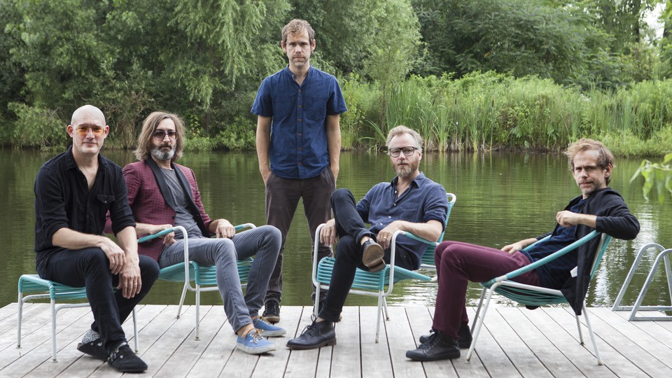A publicity image of The National